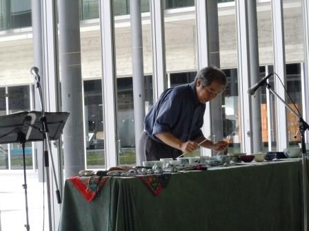 九州歴史資料館碗琴コンサート5(2015-07-05)