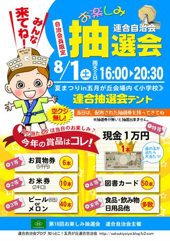 抽選会ポスター2015