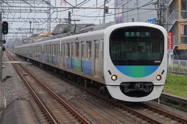 2015-07-29 西武30103F 準急飯能行き 4131レ