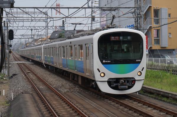 2015-07-29 西武32105F+38109F 急行飯能行き 2141レ