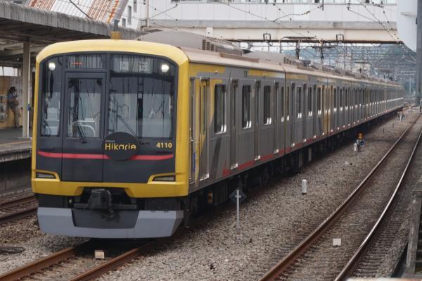 2015-07-29 東急4110F 回送1