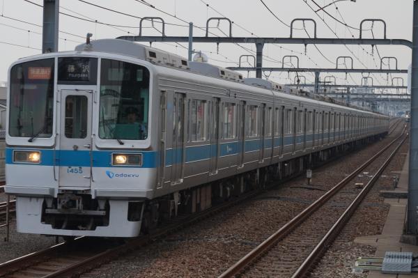 2015-07-30 小田急1055F+1255F 快速急行藤沢行き
