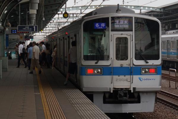 2015-07-30 小田急2054F 各停本厚木行き2