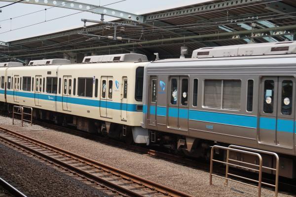 2015-07-30 小田急8262F+1065F 連結部1