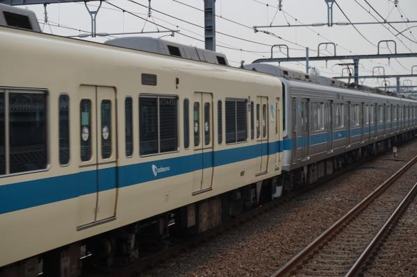 2015-07-30 小田急8262F+1065F 連結部2