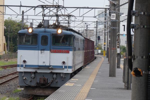 2015-08-03 EF65-2057牽引 貨物列車1