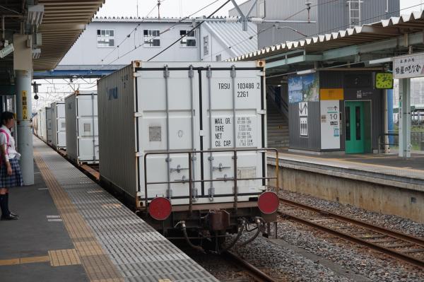 2015-08-03 EF65-2057牽引 貨物列車2