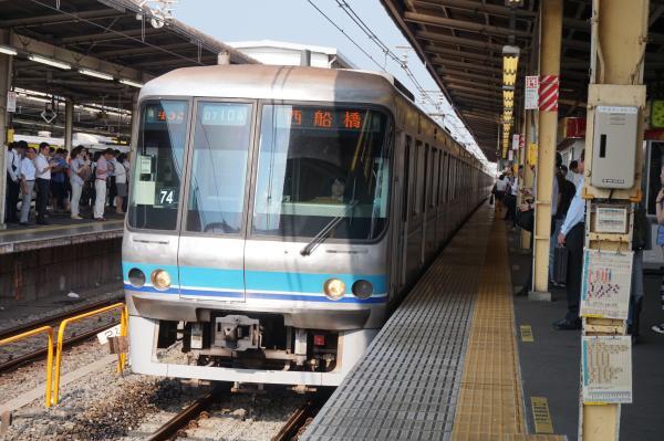 2015-08-03 メトロ07‐104F 西船橋行き