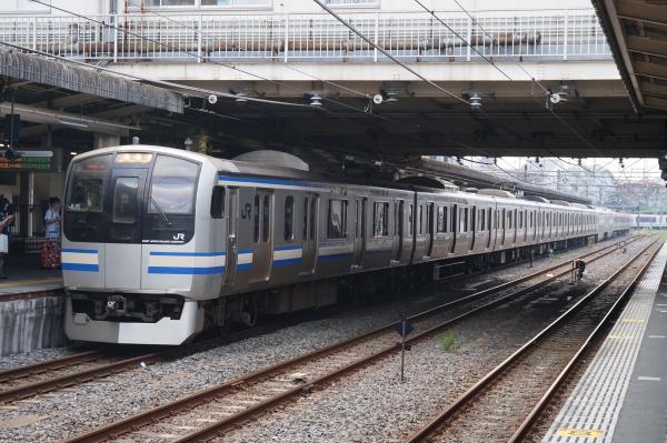 2015-08-03 横須賀線E217系クラY-11編成 快速エアポート成田
