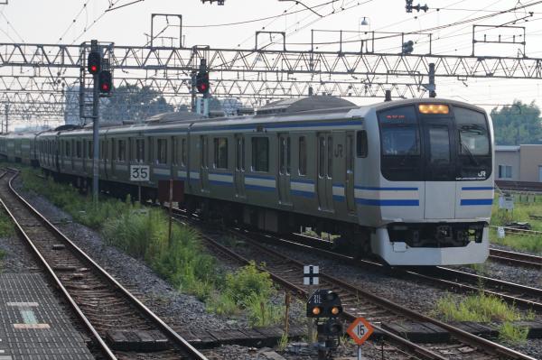 2015-08-03 横須賀線E217系クラY-15編成 快速エアポート成田