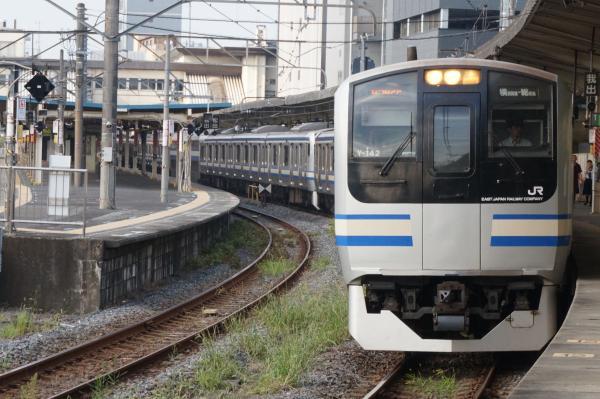 2015-08-03 横須賀線E217系クラY-142編成 快速久里浜行き