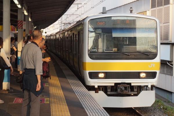 2015-08-03 総武線209系ミツC509編成 三鷹行き
