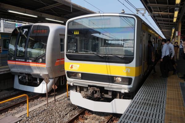 2015-08-03 総武線E231系ミツB11編成 津田沼行き