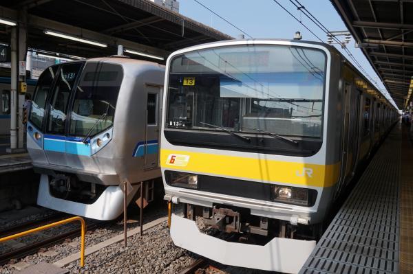 2015-08-03 総武線E231系ミツB13編成 津田沼行き