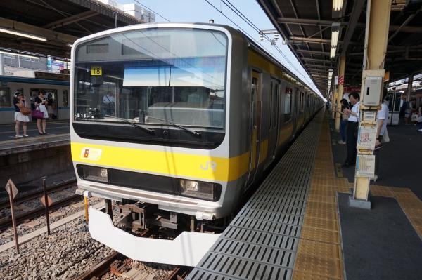 2015-08-03 総武線E231系ミツB18編成 千葉行き1