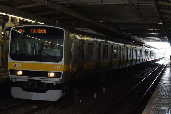 2015-08-03 総武線E231系ミツB901編成 千葉行き