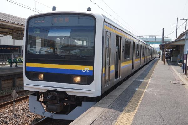 2015-08-03 房総地区209系マリC413編成 成田線銚子行き