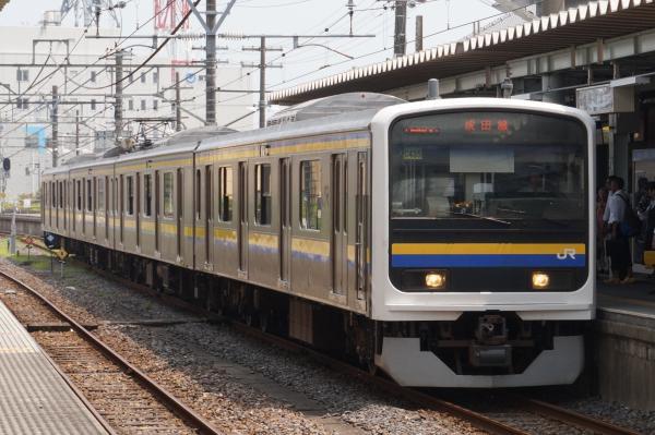 2015-08-03 房総地区209系マリC435編成 成田線千葉行き