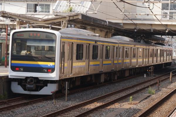 2015-08-03 房総地区209系マリC435編成 成田線銚子行き