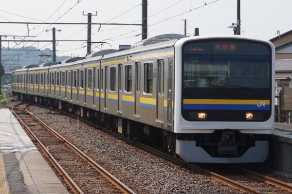 2015-08-03 房総地区209系マリC616編成 成田線銚子行き