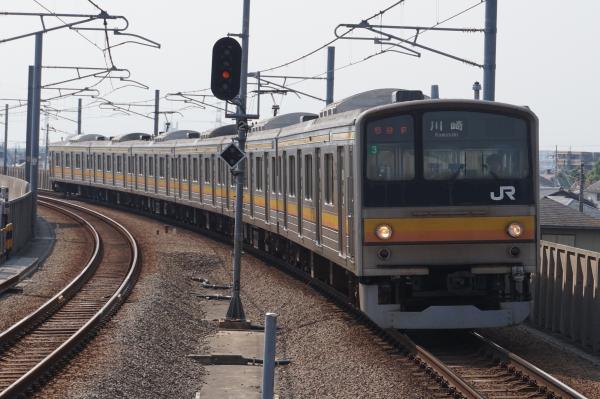 2015-08-04 南武線205系ナハ3編成 川崎行き