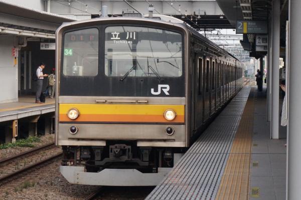 2015-08-04 南武線205系ナハ34編成 立川行き