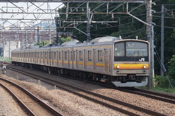 2015-08-04 南武線205系ナハ36編成 立川行き