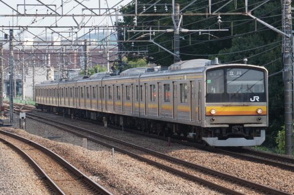 2015-08-04 南武線205系ナハ37編成 立川行き