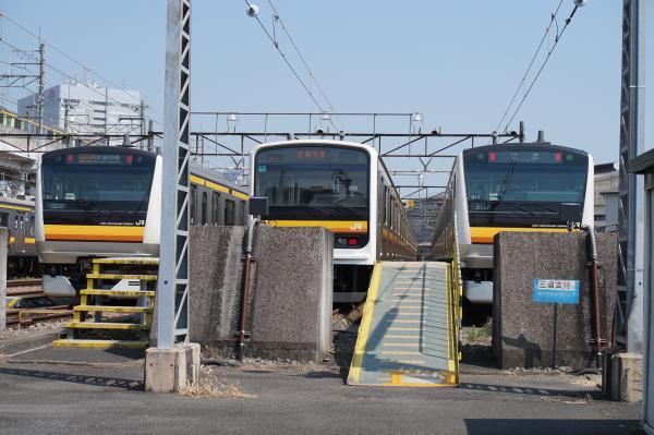 2015‐08‐04 南武線中原電車区