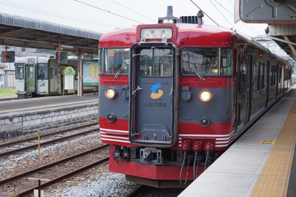 2015-08-05 しなの鉄道115系 小海線キハ110形