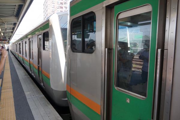 2015-08-05 高崎線籠原駅 分割作業1