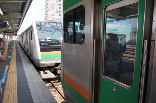 2015-08-05 高崎線籠原駅 分割作業2