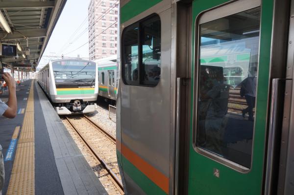 2015-08-05 高崎線籠原駅 分割作業3