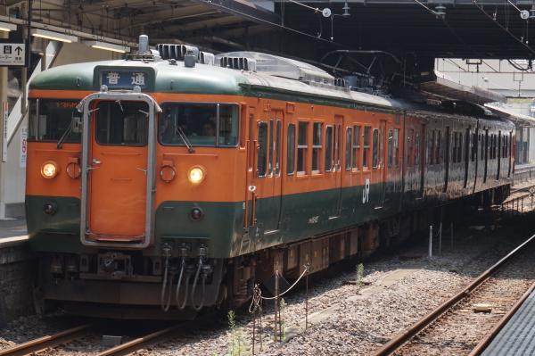 2015-08-05 信越本線115系 横川行き