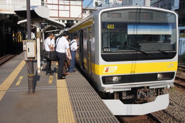 2015-08-05 総武線E231系ミツB13編成 千葉行き1