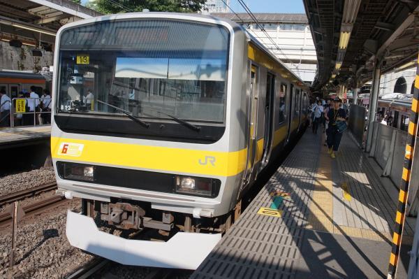 2015-08-05 総武線E231系ミツB13編成 千葉行き2