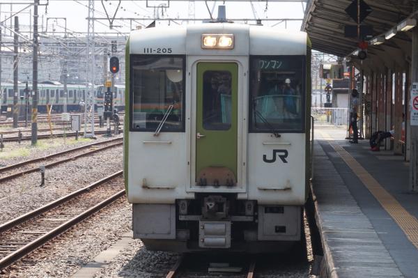 2015-08-05 八高線キハ110形