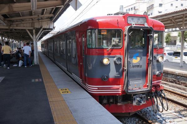 2015-08-06 しなの鉄道115系 軽井沢行き