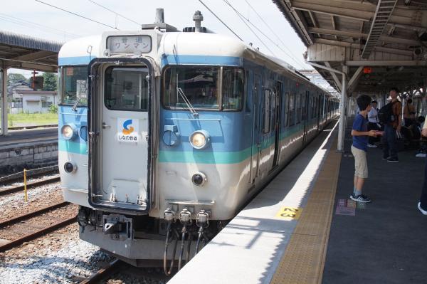 2015-08-06 しなの鉄道115系 長野行き