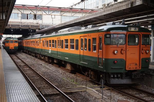 2015-08-06 高崎駅 115系
