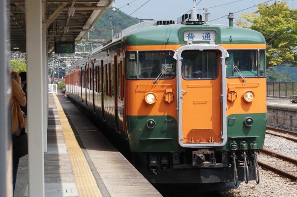 2015-08-06 信越本線115系 高崎行き