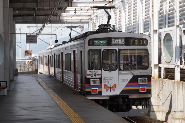 2015-08-06 上田電鉄1000系 別所温泉行き2