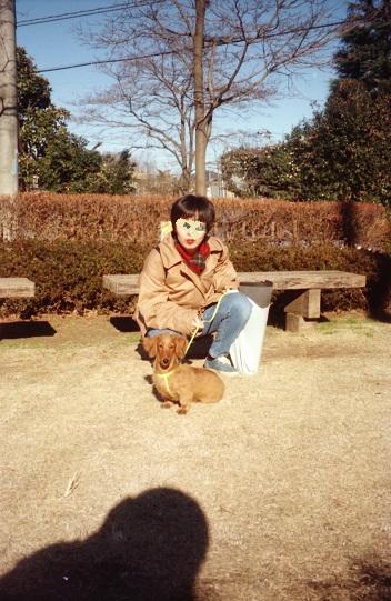 マロ、1才前の写真