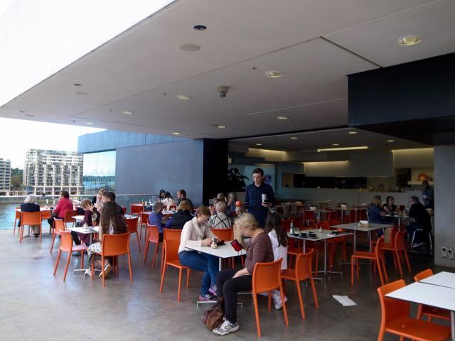 シドニー現代美術館のカフェ - 1 (1)