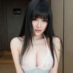 中国美少女モデル 米妮(mini) セクシーセミヌード画像