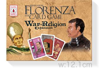 フロレンツァ・カードゲーム拡張:戦いと宗教:箱