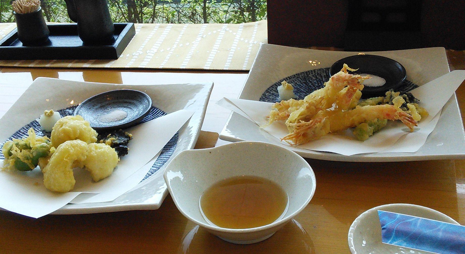 縄寿司鱧車海老天ぷら