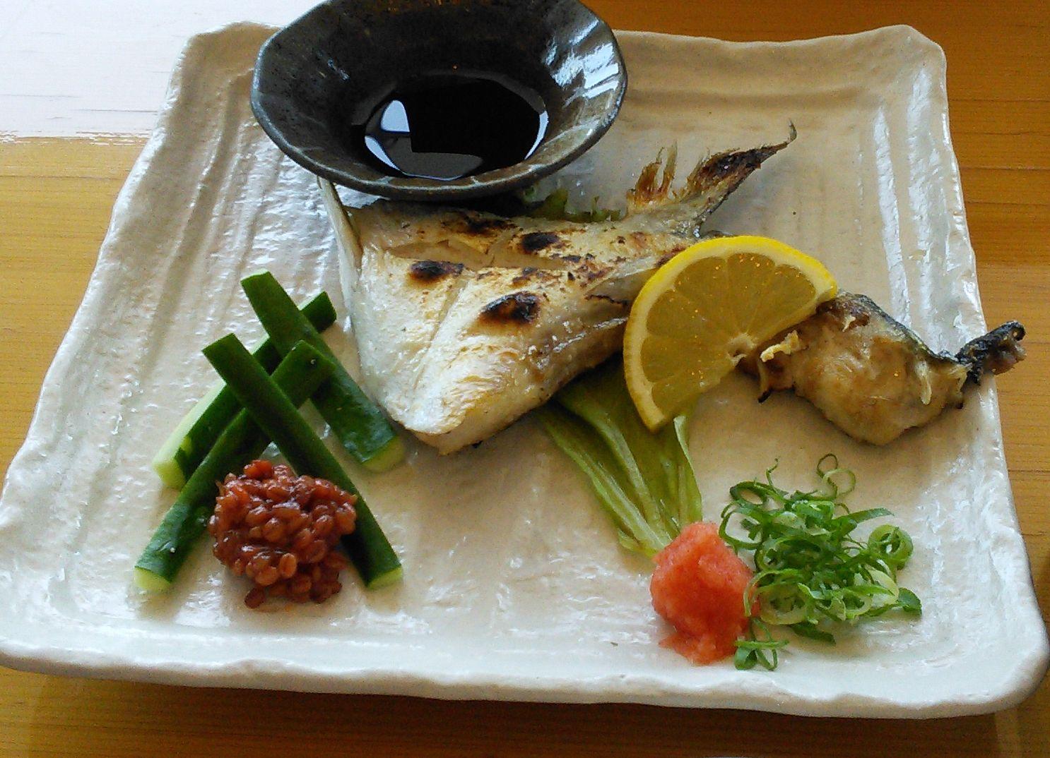 縄寿司ハマチカマ塩ポン酢