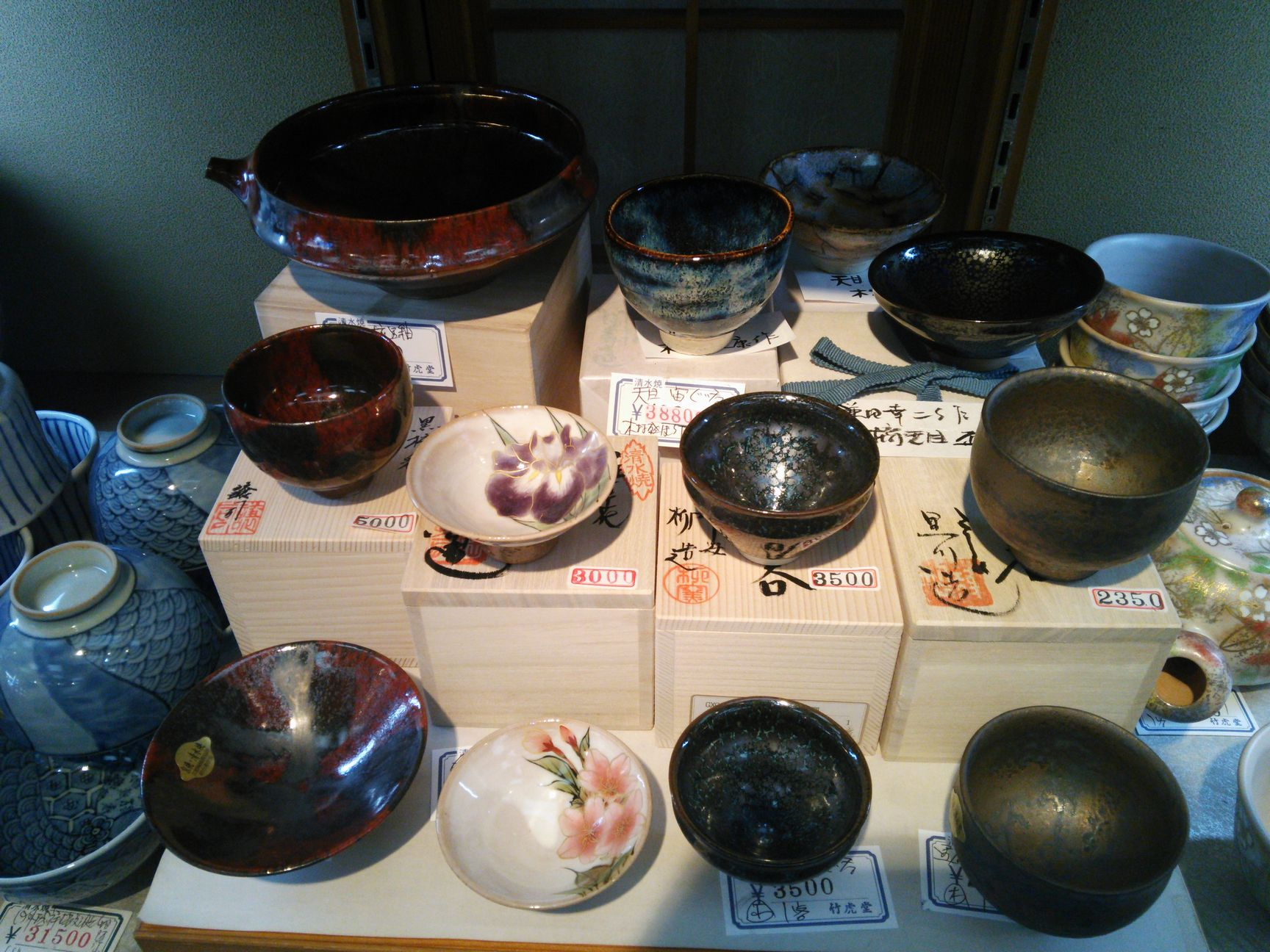 2015陶器まつり店内