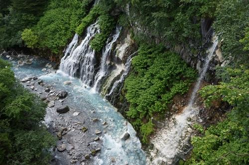 しらひげの滝①